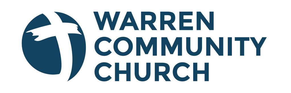 warren community church logo blue